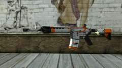 M4A4 from CS:GO для GTA San Andreas