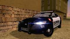 Ford Taurus 2013 Georgia Police Car для GTA San Andreas