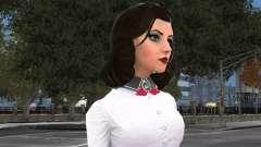 Элизабет из Bioshock Infinite: Burial At Sea для GTA 4