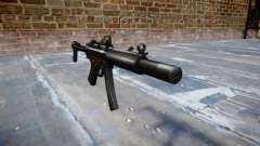 Пистолет-пулемёт MP5SD DRS FS b target