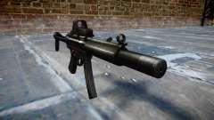 Пистолет-пулемёт MP5SD EOTHS FS b target
