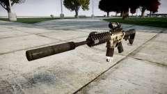 Автомат P416 ACOG silencer PJ1 target