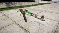 Автомат АК-47 Cattle для GTA 4