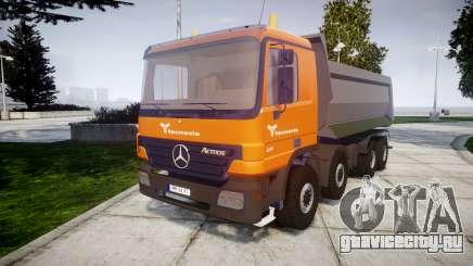 Mercedes-Benz Actros tecnovia для GTA 4