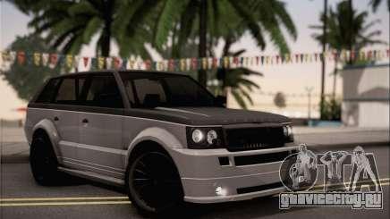 Vapid Huntley для GTA San Andreas