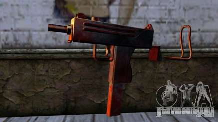 Micro Uzi v2 Ржаво-кровавая для GTA San Andreas