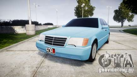Mercedes-Benz 600SEL W140 для GTA 4