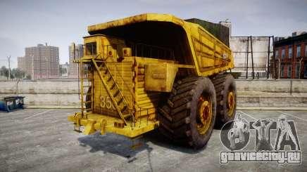 Mining Truck для GTA 4
