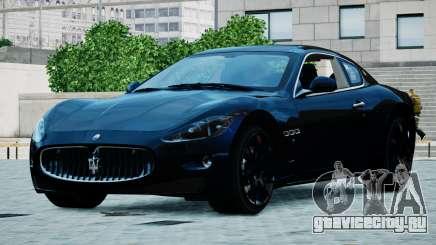 Maserati Granturismo 2012 для GTA 4