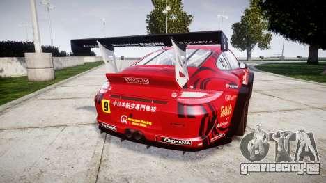 Porsche 911 Super GT 2013 для GTA 4 вид сзади слева