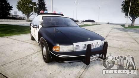 Chevrolet Caprice 1991 LAPD [ELS] Traffic для GTA 4