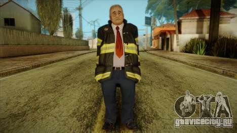 GTA 4 Emergency Ped 13 для GTA San Andreas