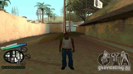 C-HUD New Style для GTA San Andreas второй скриншот