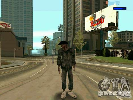 Cкин Benito из Stalker для GTA San Andreas