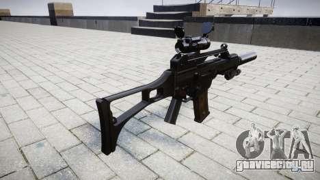 Автомат Heckler & Koch G36 CV target для GTA 4 второй скриншот