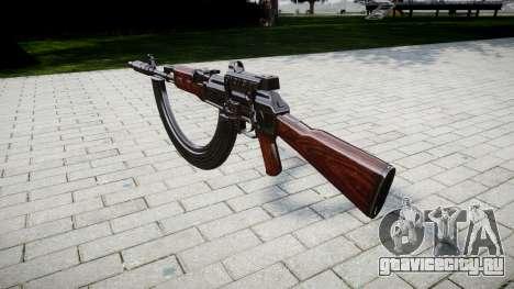Автомат АК-47 Collimator. Muzzle and HICAP targe для GTA 4 второй скриншот