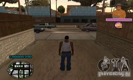 C-HUD 2Pac для GTA San Andreas