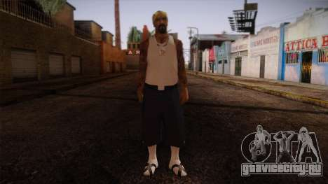 Fresno Buldogs 14 Skin 3 для GTA San Andreas