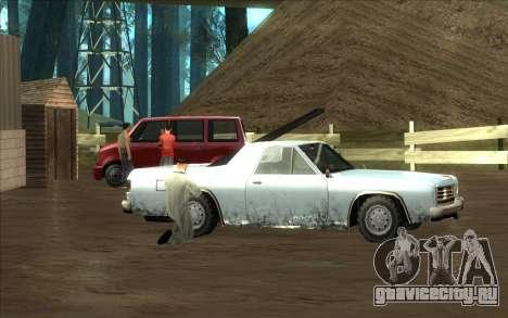 Дорожная автомастерская Сиджея для GTA San Andreas пятый скриншот