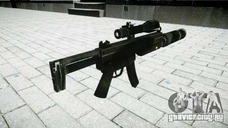 Тактический пистолет-пулемёт MP5 для GTA 4 второй скриншот