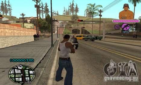 C-HUD 2Pac для GTA San Andreas четвёртый скриншот
