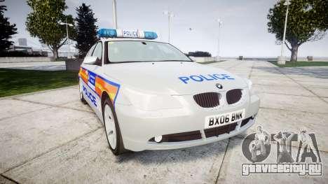 BMW 525d E60 2006 Police [ELS] для GTA 4