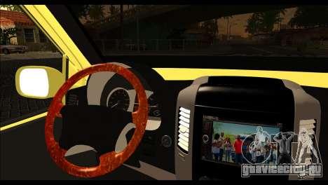 Volkswagen Transporter Panelvan для GTA San Andreas вид сзади слева