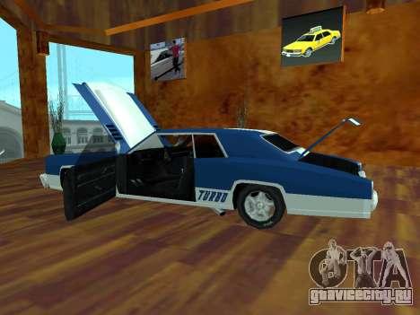 Buccaneer Turbo для GTA San Andreas вид справа
