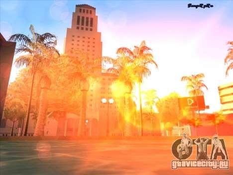 Sunset ENB для GTA San Andreas седьмой скриншот