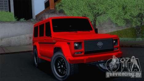 GTA 5 Benefactor Dubsta для GTA San Andreas