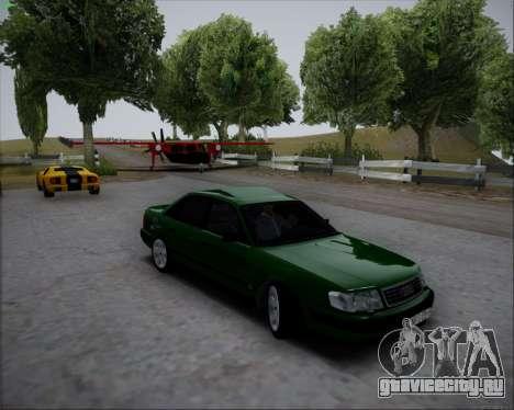 Audi 100 C4 1994 для GTA San Andreas вид сзади слева