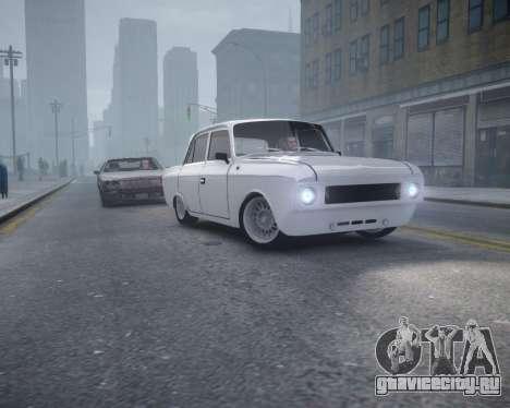 Москвич 412 для GTA 4 вид справа