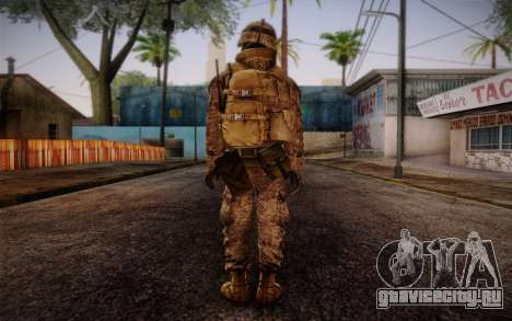 Blackburn from Battlefield 3 для GTA San Andreas второй скриншот