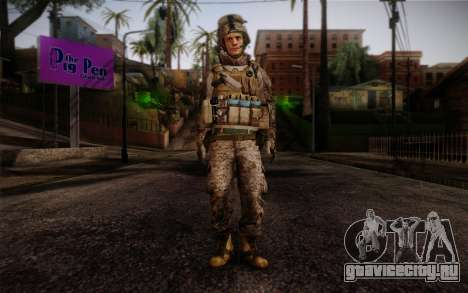 Blackburn from Battlefield 3 для GTA San Andreas