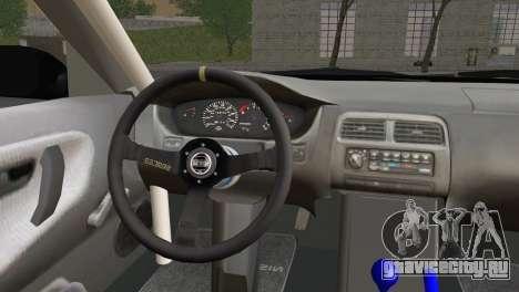 Nissan 180SX EasyStreet для GTA San Andreas вид сзади слева