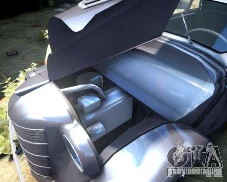 Москвич 400 для GTA 4 вид изнутри