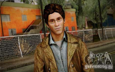 Harry Mason From SH: Shattered Memories для GTA San Andreas третий скриншот