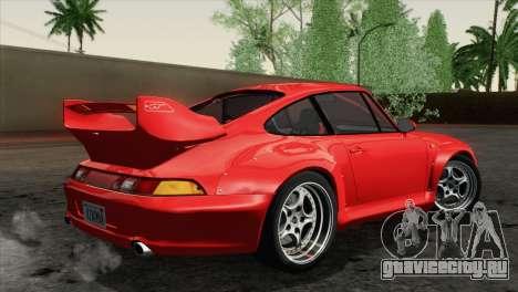 Porsche 911 GT2 (993) 1995 [HQLM] для GTA San Andreas вид слева