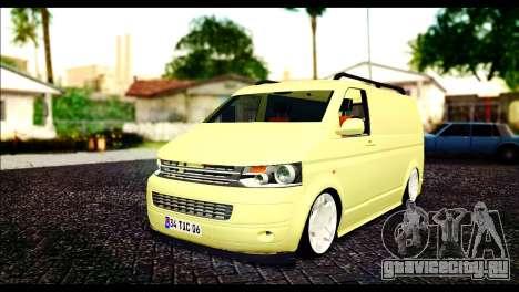 Volkswagen Transporter Panelvan для GTA San Andreas