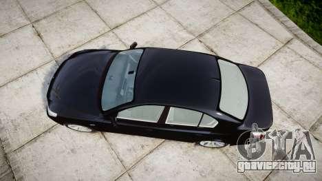 BMW 525d E60 2009 Police [ELS] Unmarked для GTA 4 вид справа