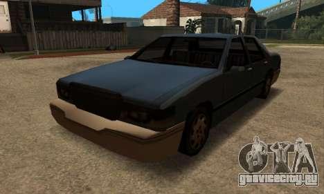 Beta Elegant Final для GTA San Andreas вид сзади