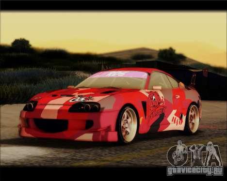 Toyota Supra Fail Crew для GTA San Andreas