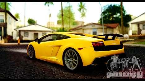 Lamborghini Gallardo LP 570-4 для GTA San Andreas вид слева
