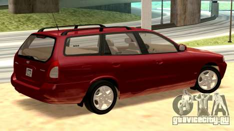 Daewoo Nubira I универсал CDX США, 1999 г. для GTA San Andreas вид сзади слева