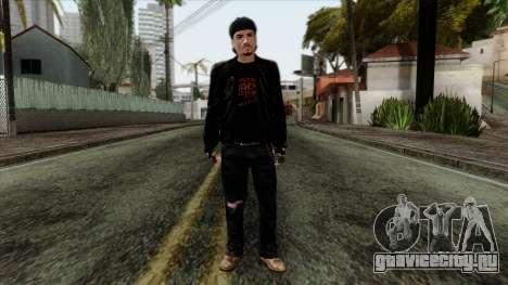 GTA 4 Skin 10 для GTA San Andreas