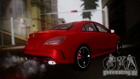 Mercedes-Benz CLA 250 2014 для GTA San Andreas вид слева