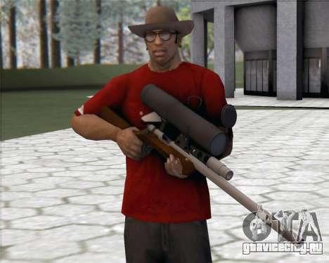 TF2 Sniper Rifle для GTA San Andreas