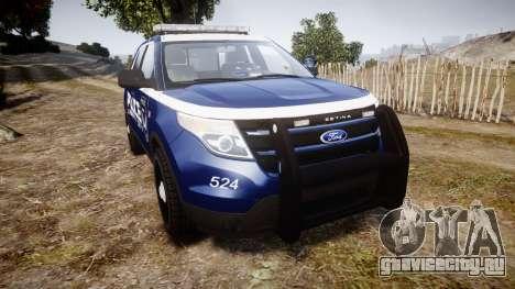 Ford Explorer 2013 LCPD [ELS] v1.0L для GTA 4