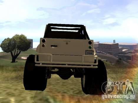 GTA 5 Mesa MerryWeather version для GTA San Andreas вид сзади слева