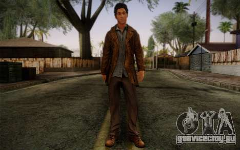 Harry Mason From SH: Shattered Memories для GTA San Andreas